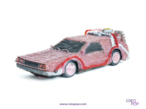 CreoPop - Object image - DeLorean (1024 px)